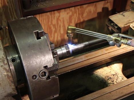 Boat Propeller Repair and Prop Shaft Straightening Service