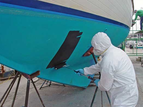 hull and deck painting