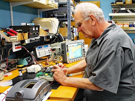 marine electronic repairs