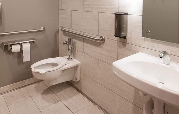 Clean Marina Bathrooms