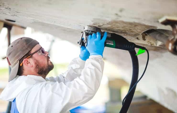 Fiberglass repair services