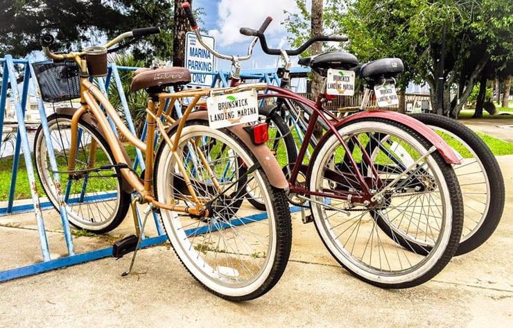 Free Marina Loaner Bikes