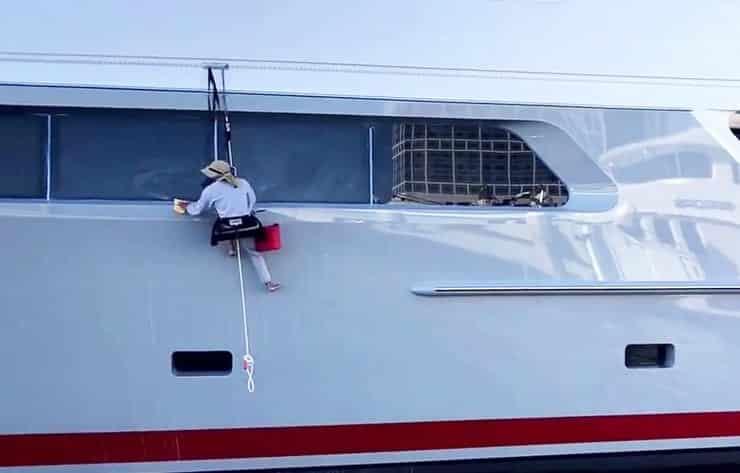 boat detailing in brunswick ga