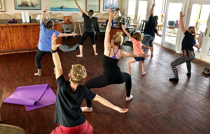 Marina yoga classes