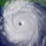 A hurricane hole marina